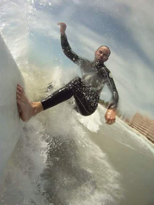 GoPro goes surfing Creative Commons License courtesy Gordon Tarpley